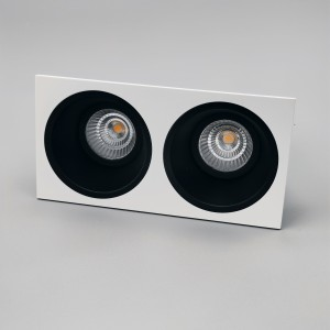 LED CLASSIC 2 BLACK-FRAME WHITE