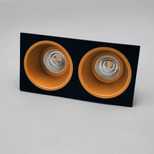 LED CLASSIC 2 GOLD-FRAME BLACK